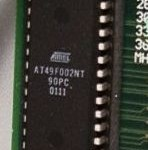 new EEPROM, closeup