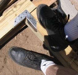 Rob's shoe