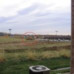 bulldozing the neighborhood