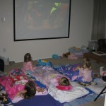 slumber party movie night