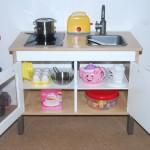 IKEA mini-kitchen, door open