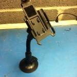 iPhone gooseneck holder