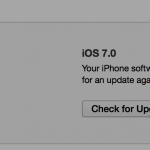 iTunes restore option