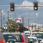 das blinken traffic lights
