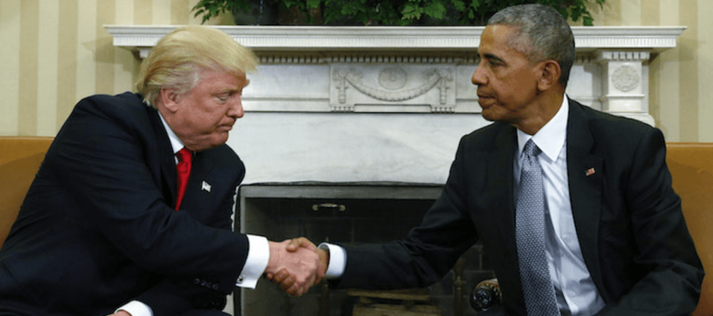 The tensest political handshake in modern times.